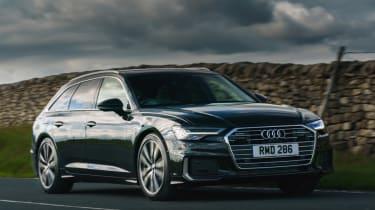 Audi A6 Avant - front cornering