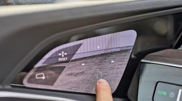 Audi e-tron - interior detail