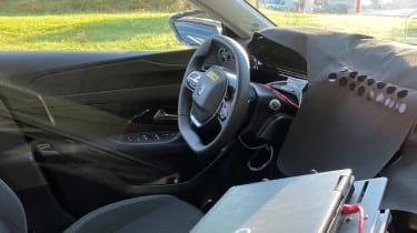 Peugeot 308 2021 spied - interior