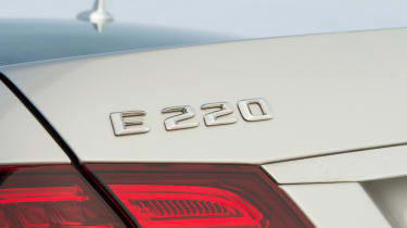 Used Mercedes E-Class -  E220 badge