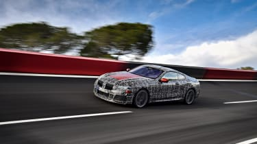 New BMW 8 Series track