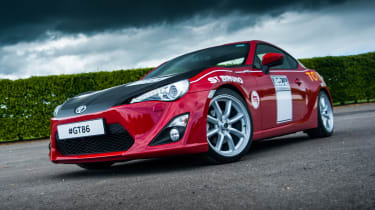 Toyota GT 86 - Ove Anderssons Celica livery
