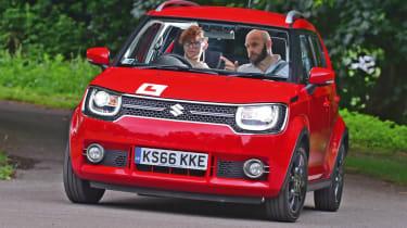 Long-term test - Suzuki Ignis - turning