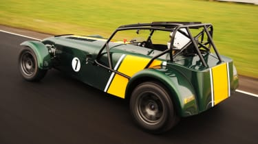 Caterham R600 rear tracking