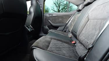 Skoda Superb - back seats