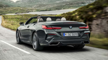 BMW 8 Series Convertible - rear action