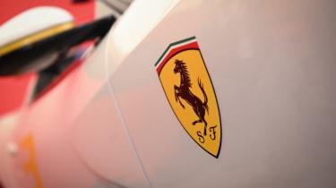 Ferrari SP3JC - badge Goodwood 2019