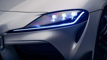 Toyota GR Supra 2.0 - front lights