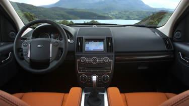 Land Rover Freelander facelift interior