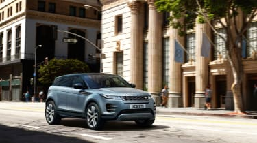 New Range Rover Evoque - blue