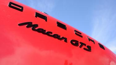 Porsche Macan GTS - rear badge