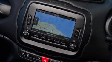 Used Jeep Renegade - sat-nav