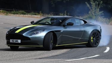 Aston Martin DB11 AMR - powerslide