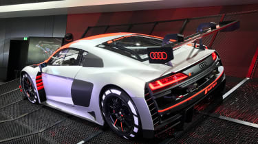 Audi R8 LMS GT3 - Paris rear