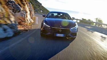 Maserati Ghibli facelift - full front