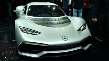 Mercedes-AMG Project One Frankfurt - front