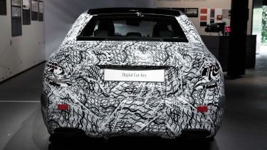 Mercedes E-Class tech - rear static