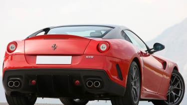 Ferrari 599 GTO coupe rear
