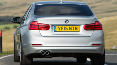 BMW 3 Series - rear bumper