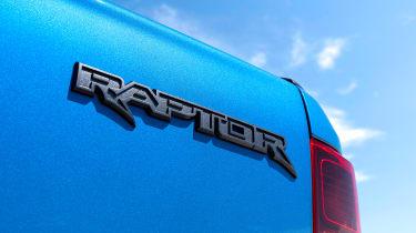 Ford Ranger Raptor - Raptor badge
