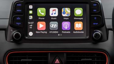 Hyundai Kona review - infotainment