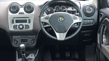 The interior lets the vehicle down with plastic quality being cheap and poorly fitted panels.