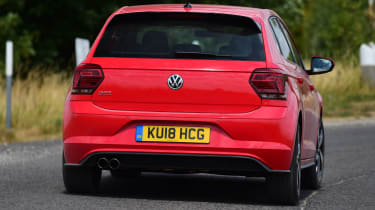 Volkswagen Polo GTI - rear action