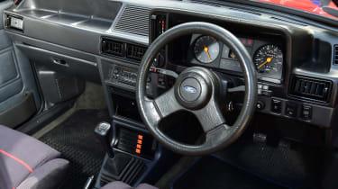 Ford Escort XR3 - dash