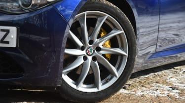 Alfa Romeo Giulia long term test - first report wheel