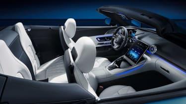 Mercedes SL interior - cabin