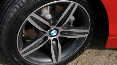 BMW carbon wheel
