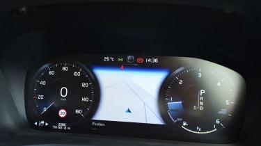 Volvo V60 - dials