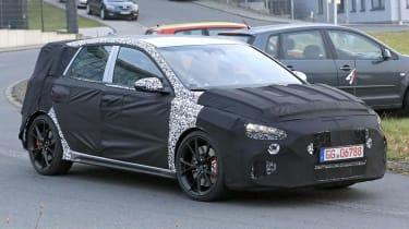 Hyundai i30 N facelift – front quarter action