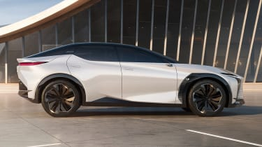 Lexus LF-Z Electrified concept - side