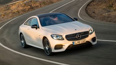 Mercedes E-Class Coupe - AMG Line front cornering