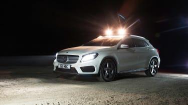 Mercedes GLA 220 CDI tracking