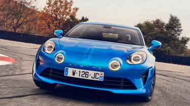 Alpine A110 - full front