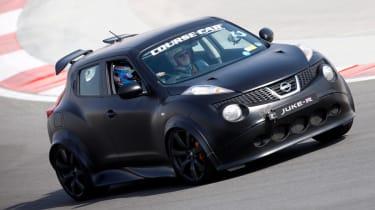 Nissan Juke R front cornering