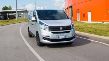 Fiat Talento - front cornering