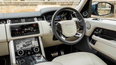 Range Rover PHEV - cabin