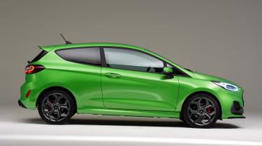 Ford Fiesta ST facelift - side