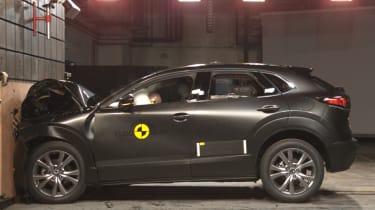 Mazda CX-30 - NCAP crash test
