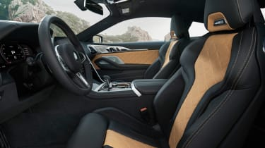 BMW M8 Competition - front seats