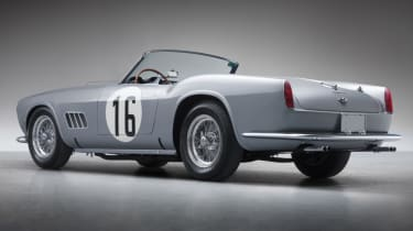 Ferrari 250 GT LWB California Spider Competizione - dramatic rear quarter