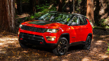 Jeep Compass Trailhawk 2017 - front quarter