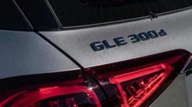 Mercedes GLE - rear badge