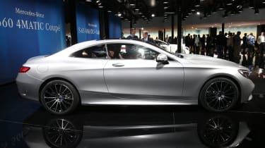 Mercedes S-Class Coupe - side