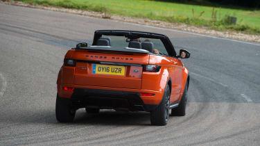 Range Rover Evoque Convertible - rear action