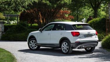 Audi Q2 1.0 TFSI - rear quarter