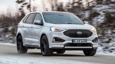 Ford Edge - front tracking